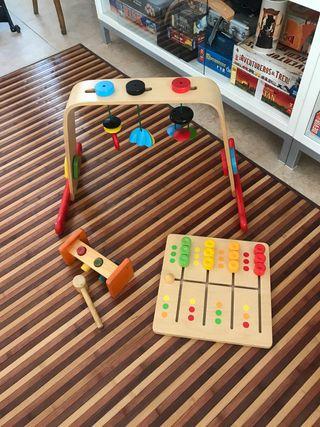 Juguetes bebé de madera
