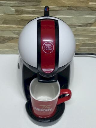 Cafetera Nescafé Dolce Gusto DëLonghi Blanca+Burde