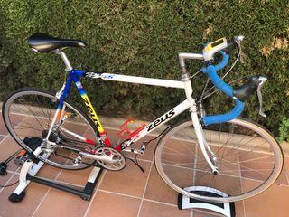 Rodillo + bicicleta