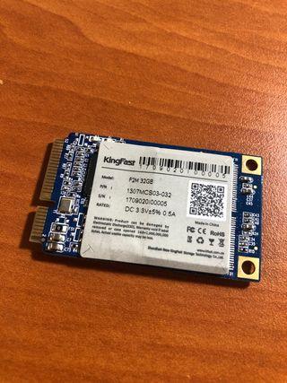Disco Duro Sólido SSD Sata 2 32Gb mSATA