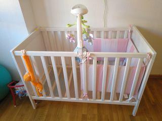 Cuna Ikea para bebés