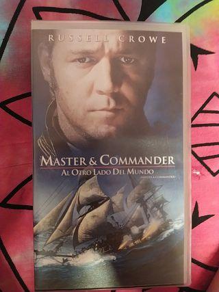 master y commander vhs clasicos
