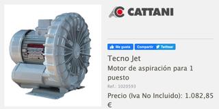Motor de aspiración Cattani