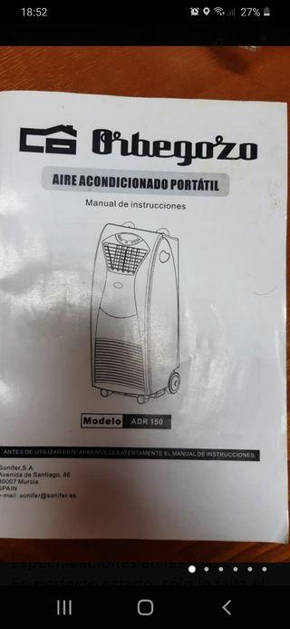 Aire Acondicionado portátil ORBEGOZO