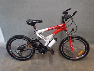 Bicicleta niño doble suspension nueva