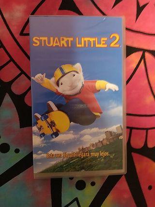 Stuart little 2 vhs clasicos cine