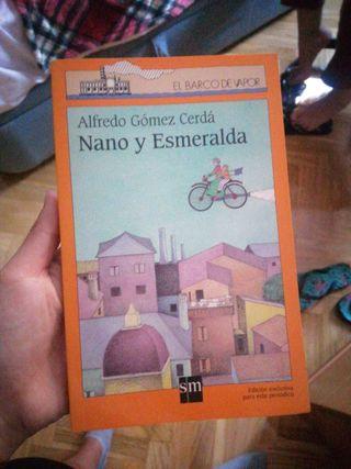 Libro 'Nano y Esmeralda'