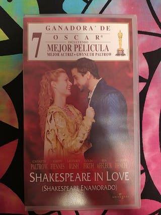 shakespeare in love vhs clasicos