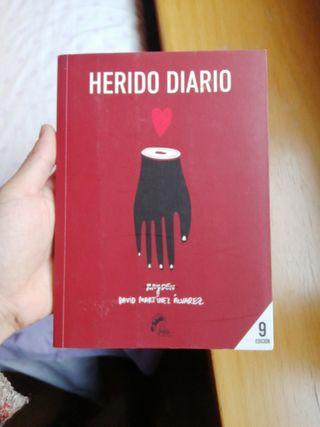Libro 'Herido Diario'