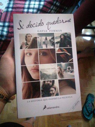 Libro 'Si decido quedarme'