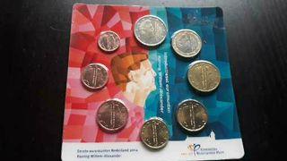 Cartera (serie) monedas Holanda 2014 s/c