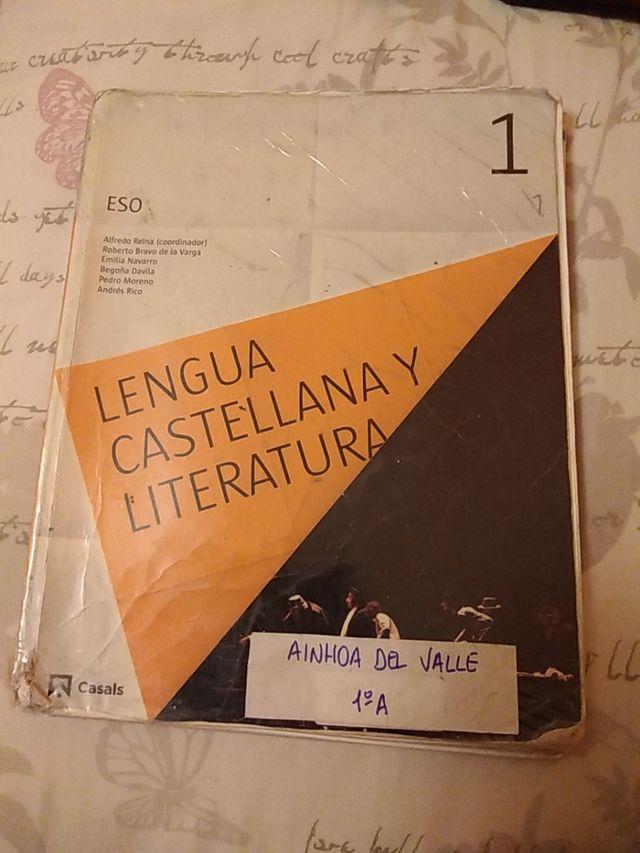Libro lengua castellana y literatura,PRIMERO ESO