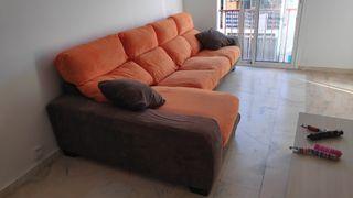 Sofa 4 plazas con Chaise Lounge