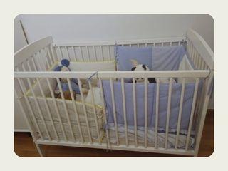 Cuna bebe completa