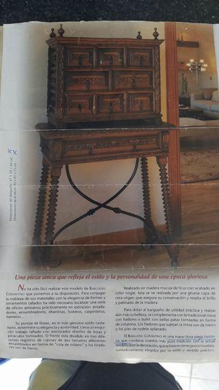 Mueble Bargueño Cervantino