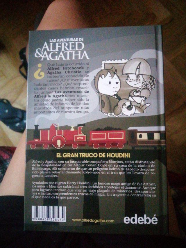 Libro 'Las aventuras de Alfred y Agatha. El gran..