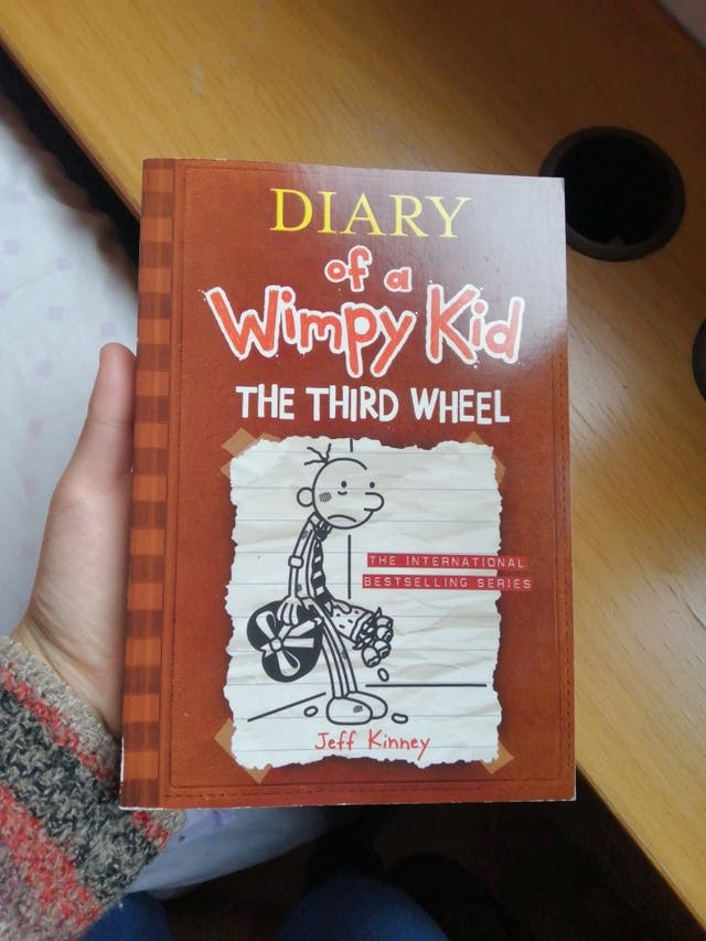 Libro 'Diary of a wimpy kid. The Third Wheel'