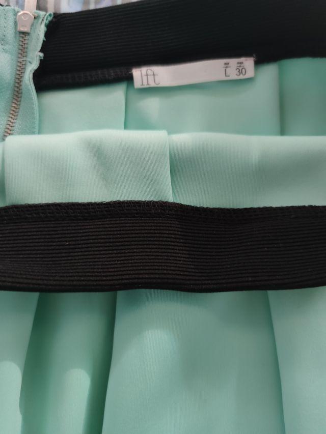falda de tablas