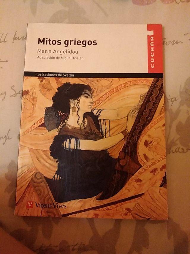 libro, mitos griegos