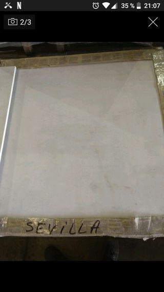 Porcelanico gran formato blanco interior exterior