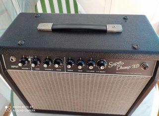 Amplificador Fender súper champ XD valvulas