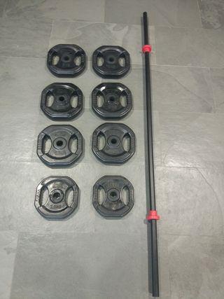 Conjunto-set body pump A ELEGIR