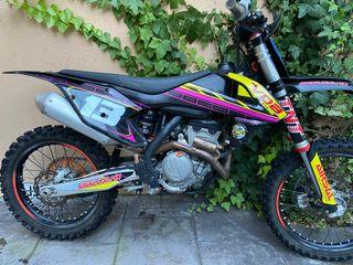 Moto de cross ktm 250 4t
