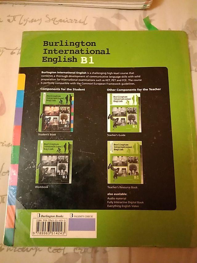 Students book,Burlington international English, B1