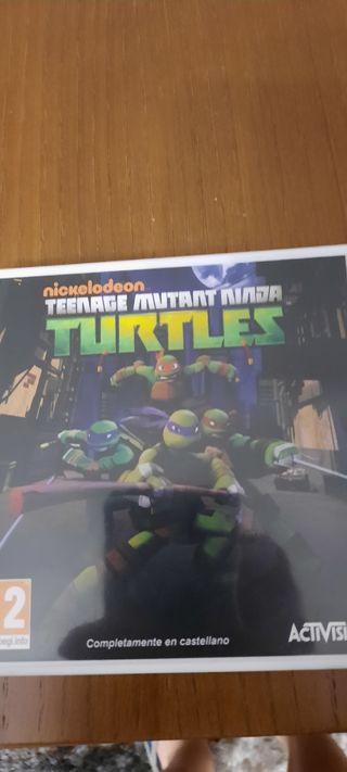 Tortugas Ninja 3DS