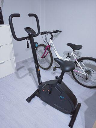 bicicleta estática DOMYOS ESSENTIAL