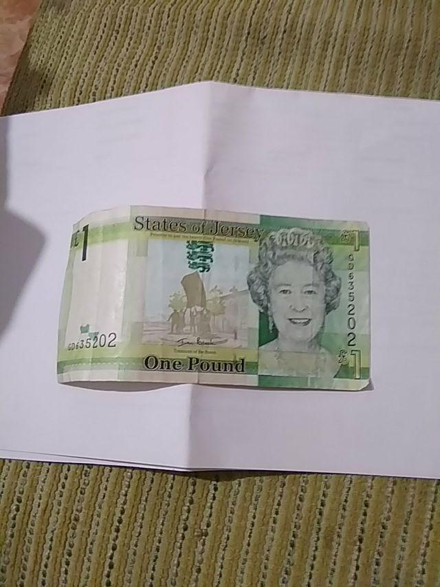 Billete 1 libra