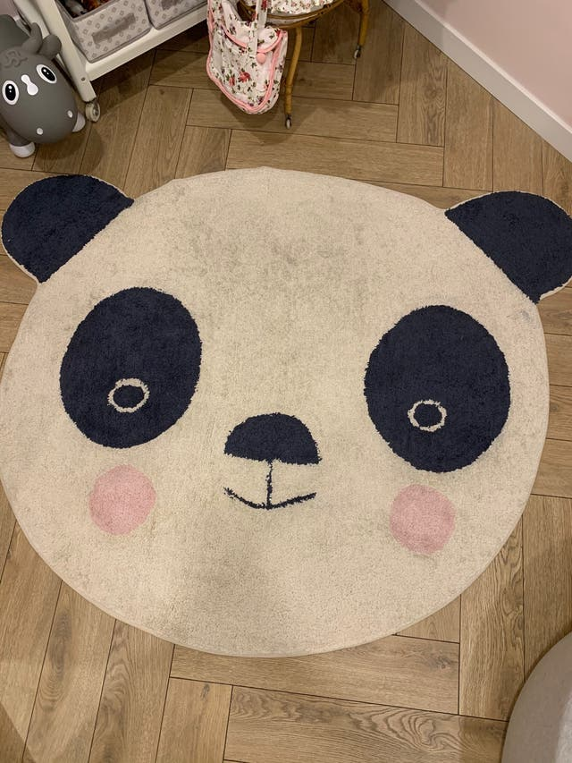 Alfombra infantil animal panda