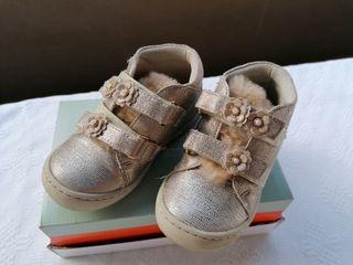bota zapato niña n 24