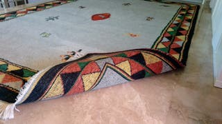 Alfombra de lana 290x190 cm
