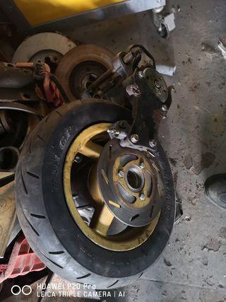 motor de sonic con freno disco trasero