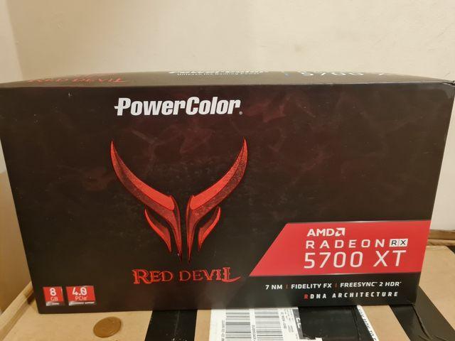 Boxed RX 5700XT 8GB RED DEVIL OC
