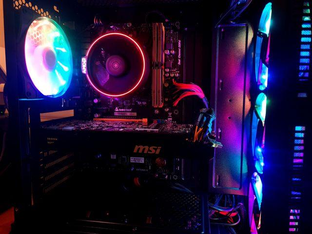 BNIB!! Custom Ryzen 2300X Gaming PC RGB