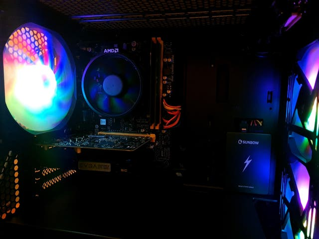 BNIB!! Custom Ryzen Gaming PC RGB