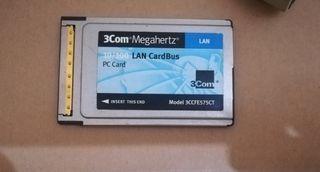 Tarjeta de Red PCMCIA 3Com