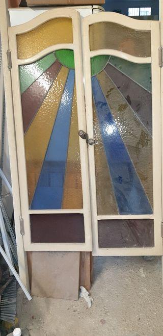 puertas de paso vintage