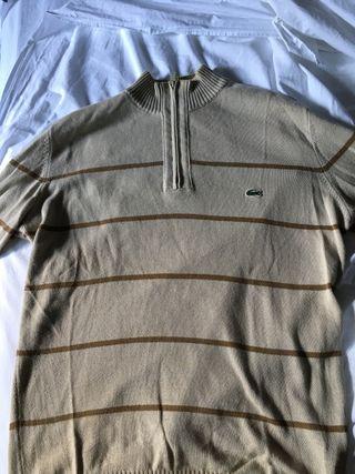 Jersey cuello medio Lacoste talla M