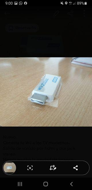 Convertidor HDMI para Wii