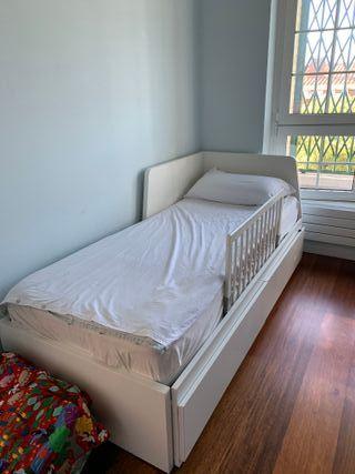 cama nido ikea 180 x 90
