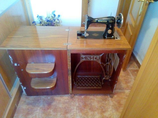 ocasión! maquina de coser singer