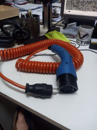 cable adaptador coche electrico a shuko