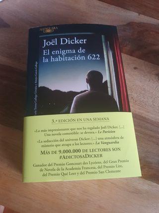 Libro El enigma de la habitación 662. Joel Dicker