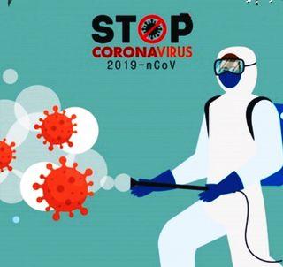 Desinfección covid19.