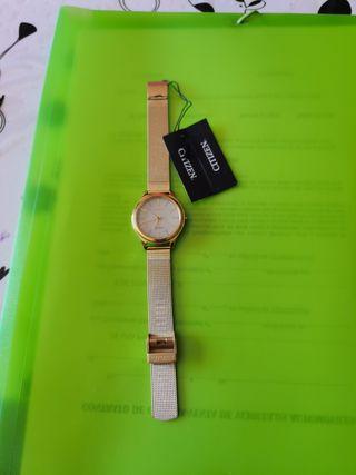 reloj mujer citizen eco drive