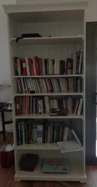 Librería LIATORP Ikea, blanco, 96x214 cm