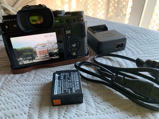 Cámara Fujifilm Xt1 sin objetivo.
